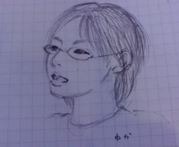 ★似顔絵(><br />  ω<)ノ