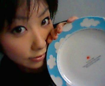 お皿と自分